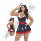 2pc Sailors Delight Costume - Large