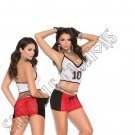 2pc Touch Down Babe Football Bedroom/Lingerie Costume - One Size