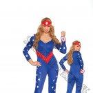 3pc American Hero Superhero Costume - Small