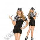 3pc Sassy Detective Costume - Large