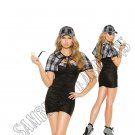 3pc Sassy Detective Costume - Medium