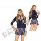 4pc Class Distraction School Girl Costume - Medium