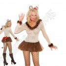 4pc Lioness Lion Costume - Medium