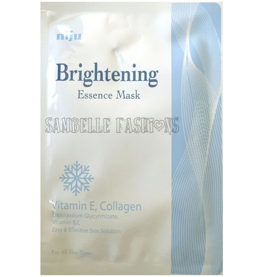 Niju Brightening Essence Face Mask - 1 sheet