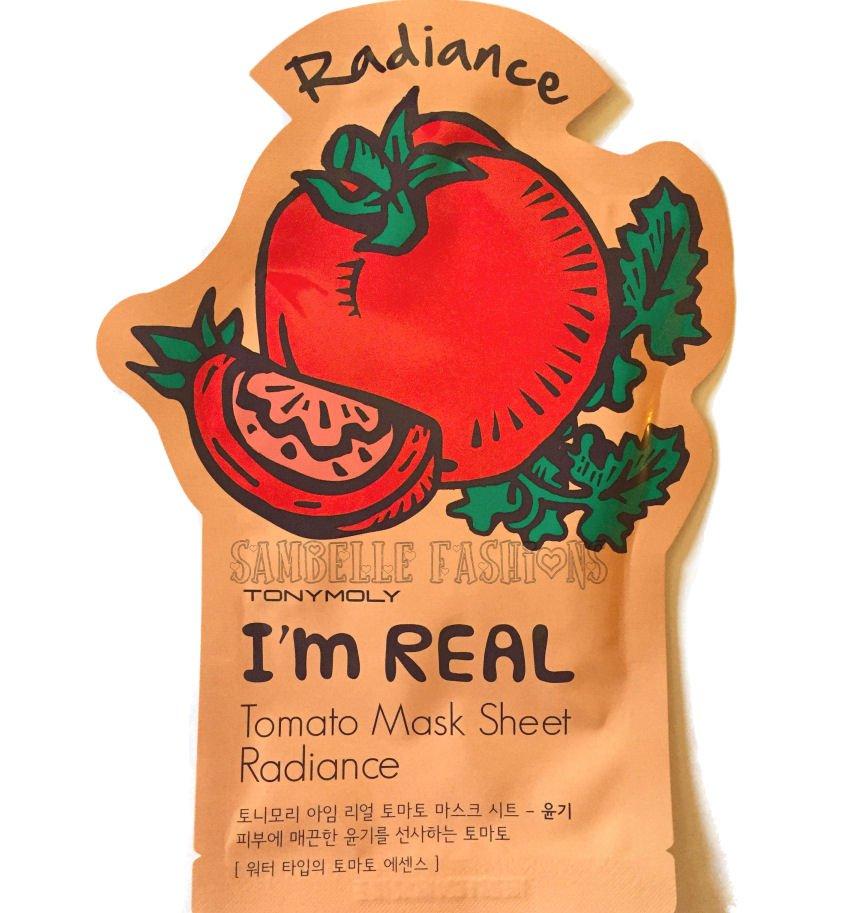 TonyMoly Radiance Tomato Essence Face Mask - 1 Sheet