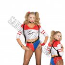 6pc Wild Child Harley Quinn Costume - Large