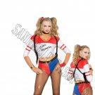 6pc Wild Child Harley Quinn Costume - Medium