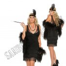 2pc 1920s 20s Flapper Costume - 3X/4X