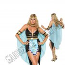 5pc Queen Of The Nile Egyptian Cleopatra Costume - 1X/2X