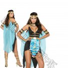 5pc Queen Of The Nile Egyptian Cleopatra Costume - Medium
