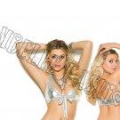 Silver Lamé Tie Front Halter Top - Queen/Plus Size