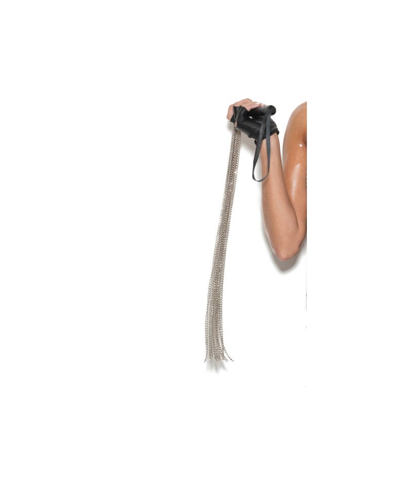 Chain Whip w/ Leather Handle