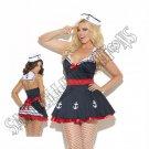 2pc Sailors Delight Costume - 1X/2X