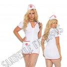 2pc Head Nurse Costume - 1X/2X