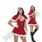 2pc Mrs Santa Costume - Large