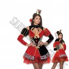 4pc Queen of Hearts Wonderland Costume - Large