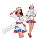 2pc Harbor Hottie Sailor Costume - Large