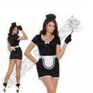 4pc Flirty Maid Costume - 3X/4X