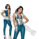 3pc Galaxy Girl Costume - Large