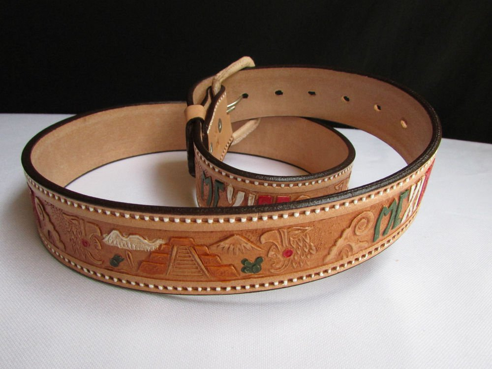 Hand Painted Western Belts