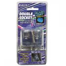 Double Socket DC Car Adapter Power Outlet