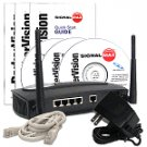 1 Mile Wireless Network Kit withRouter & 2 PC Card Adapters