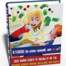 Make over $1000 in one week on eBay