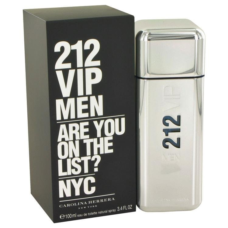212 Vip by Carolina Herrera Eau De Toilette Spray 3.4 oz