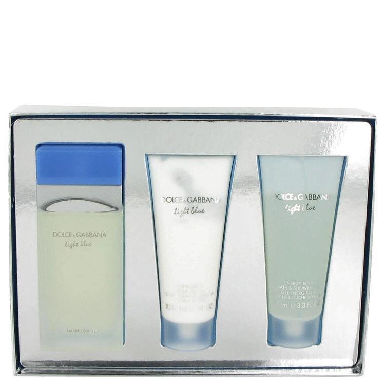 Gift Set -- 3.4 oz Eau De Toilette Spray + 3.4 oz Body Cream + 3.4 oz Shower Gel