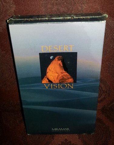 Brand New DESERT VISION JAN NICKMAN,PAUL SPEER AND DAVID LANZ VHS TAPE never ope