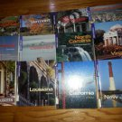 lot of 12 America the Beautiful Books US Territories Hardcover Ex-library books