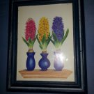 Vintage1996 Bentley House Wall Art Pictures Frame Flower By Bambi Artist Painter
