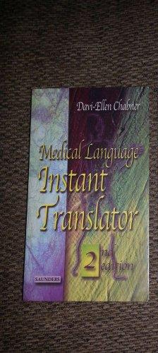 Medical Language Instant Translator (Davi-Ellen Chabner 2nd ed New Book