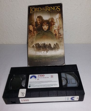 The Lord of the Rings : Part One: The Fellowship of the Ring 2002, Video,...