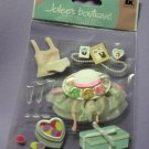 Jolee's Boutique EK Success WEDDING SHOWER Dimensional Stickers Scrapbook Card Embellishment NIP