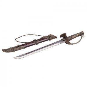 Sword With D-Shape Handle  IDEM# 31237
