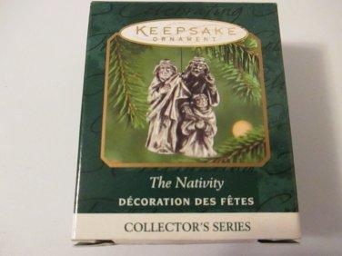Hallmark Keepsake Pewter Ornament The Nativity miniature