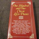 One Hundred and One Classic Love Poems