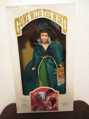 World Doll Gone with the Wind Scarlett Doll 71151