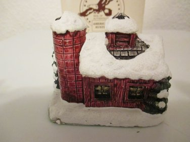 The American Rustic Series Country Christmas Cottages