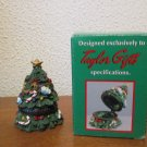 Price Products Hinged Christmas tree  trinket box