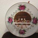 Vintage Last Supper Decorative Plate