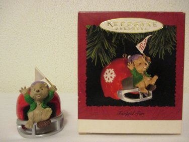 Hallmark Faithful Fan keepsake ornament