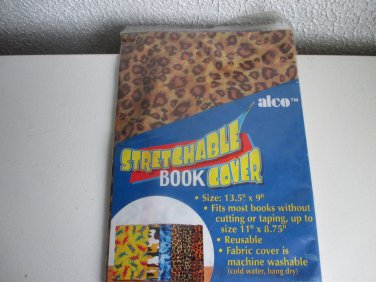 Alco Leopard Print Stretchable Book Cover