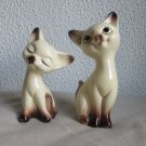 Vintage Siamese Cat Salt and Pepper shaker set