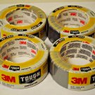 Lot of 4 3M Scotch TOUGH DUCT TAPE -  1.88 in X 30 yds