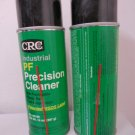 Lot of 2 CRC 03190 PF PRECISION CLEANER 14oz SPRAY CAN