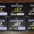 Olympus 32MB/128MB/256MB/512MB xD Picture Flash Memory Card for Digital Camera -