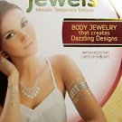 Lot of 3 Hot Jewels Metallic Temporary Tattoos - 4 Sheets