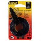 Lot of 2 Scotch 1/2 in. W x 200 in. L Vinyl Electrical Tape Black